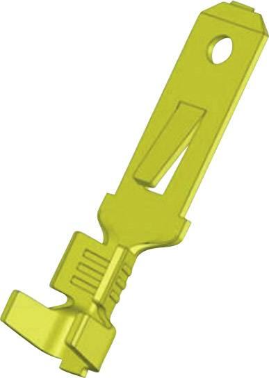Faston konektor zástrčka Vogt Verbindungstechnik 3807z05.60 odolný proti vibráciám, 4.8 mm x 0.5 mm, neizolované, mosadz, 1 ks