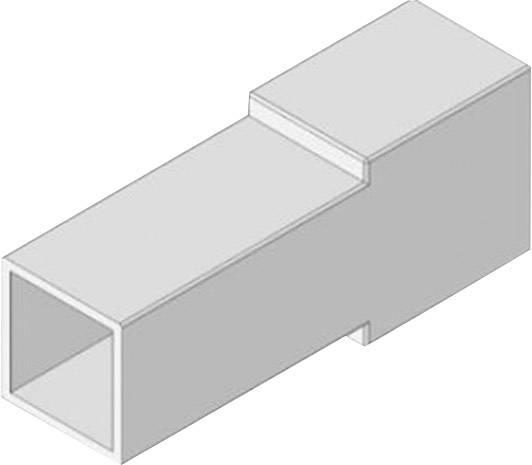 Izolačná objímka Vogt Verbindungstechnik 3938z1pa, biela, 0.50 mm² – 1 mm², 1 ks