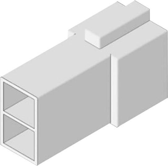 Izolačná objímka Vogt Verbindungstechnik 3938z2pa, biela, 0.50 mm² – 1 mm², 1 ks