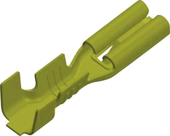 Faston konektor zásuvka Vogt Verbindungstechnik 3769h08.60 odolný proti vibráciám, 2.8 mm x 0.8 mm, 180 °, neizolované, mosadz, 1 ks