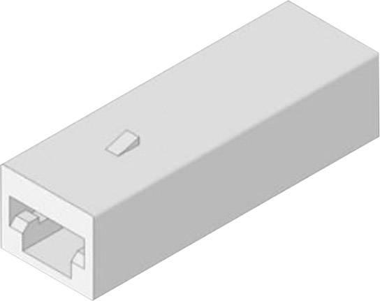 Izolační dutinka Vogt Verbindungstechnik 3936h1pa, bílá 0.50 mm² – 1 mm², 1 ks