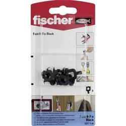 Zeď téměř & Fix Black K Fischer, N/A, 8 ks
