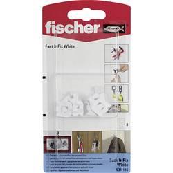 Zeď téměř & Fix White K Fischer, N/A, 8 ks