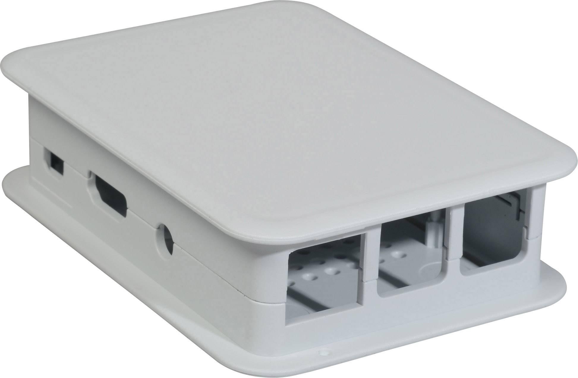 Kryt Raspberry Pi B++ TEKO TEK-BERRY3.40, pro Raspberry Pi® B+, světle šedá