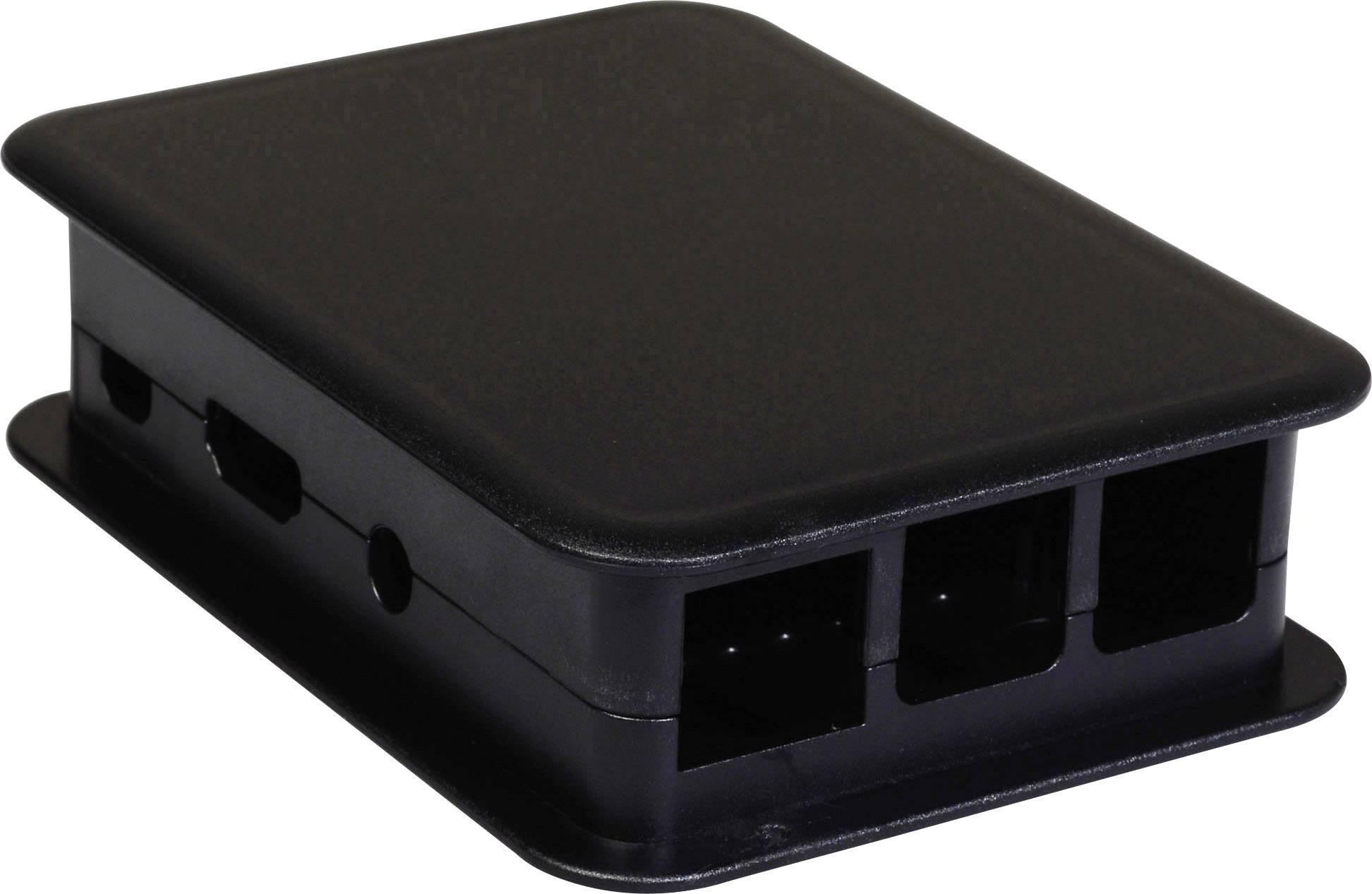Kryt Raspberry Pi B++ TEKO TEK-BERRY3.9, pro Raspberry Pi® B+, černá