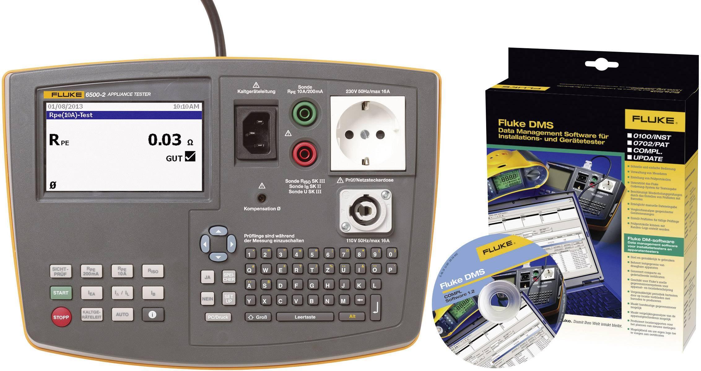 Revizní přístroje Fluke 6500-2 DE/SW