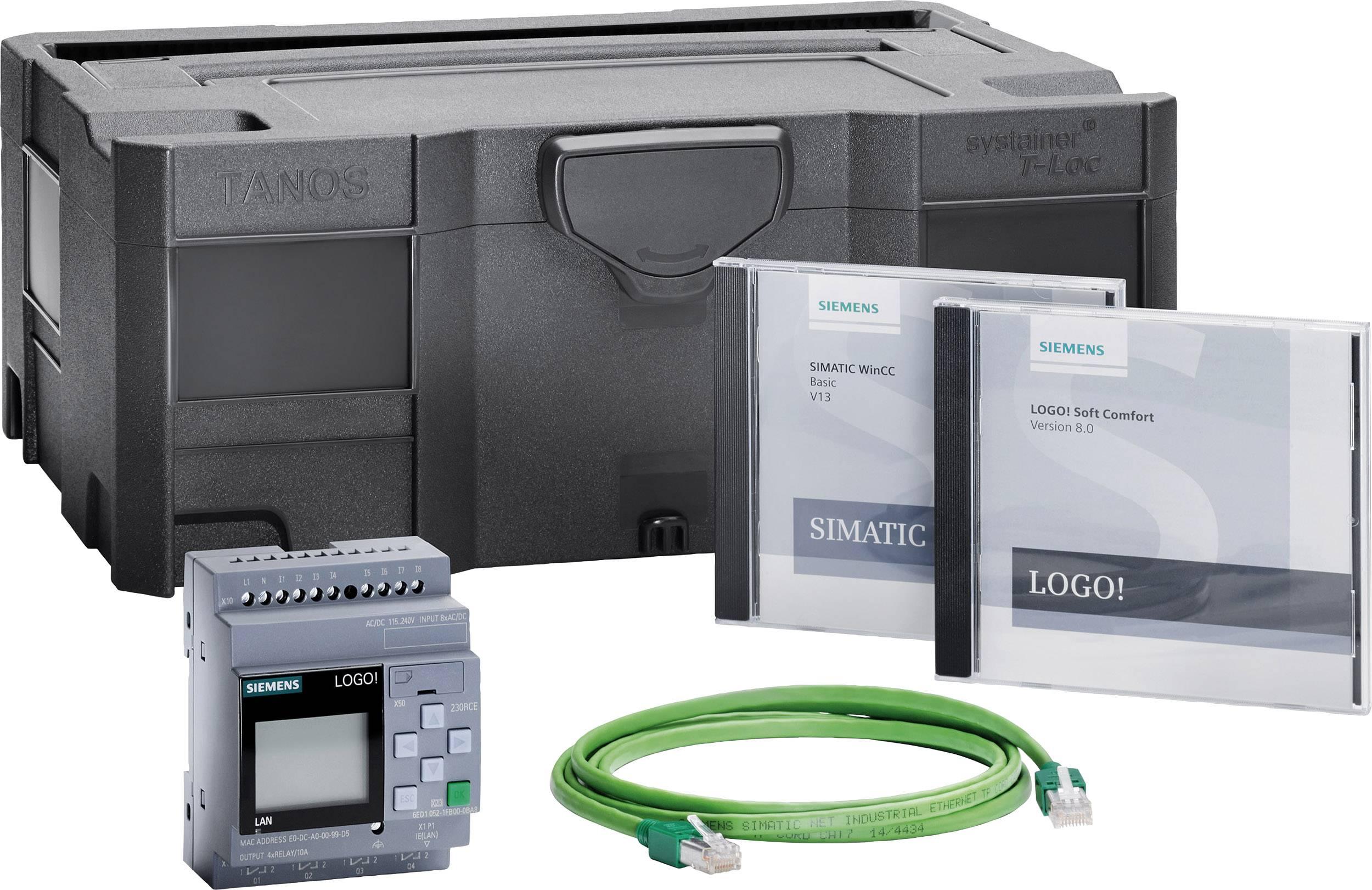 Startovací sada pro PLC Siemens LOGO! STARTER KIT 230RCE 6ED1057-3BA03-0AA8, 115 V/AC, 115 V/DC, 230 V/AC, 230 V/DC