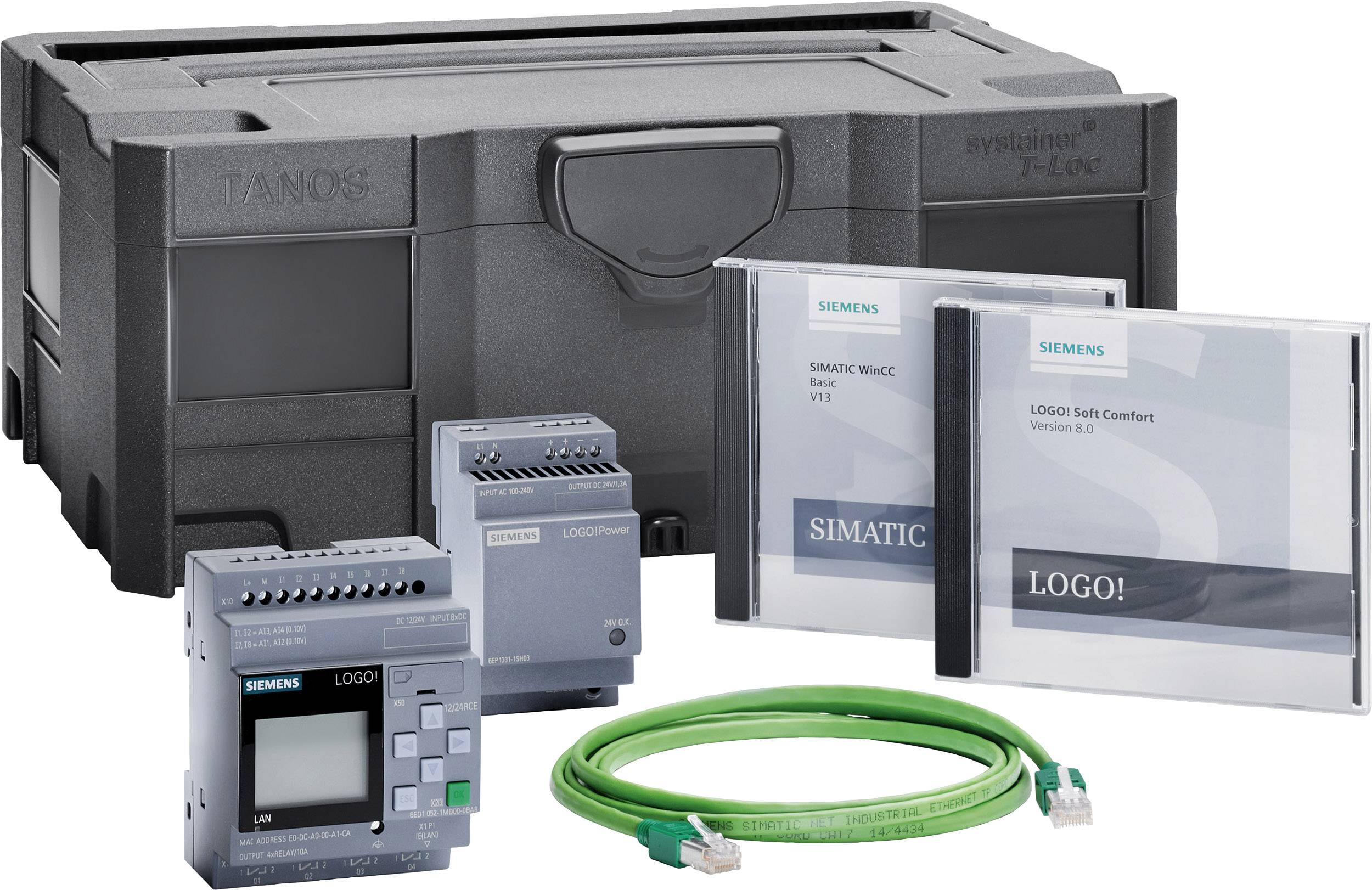 Štartovacia súprava Siemens LOGO! STARTER KIT 12/24RCE 6ED1057-3BA01-0AA8, 12 V/DC, 24 V/DC
