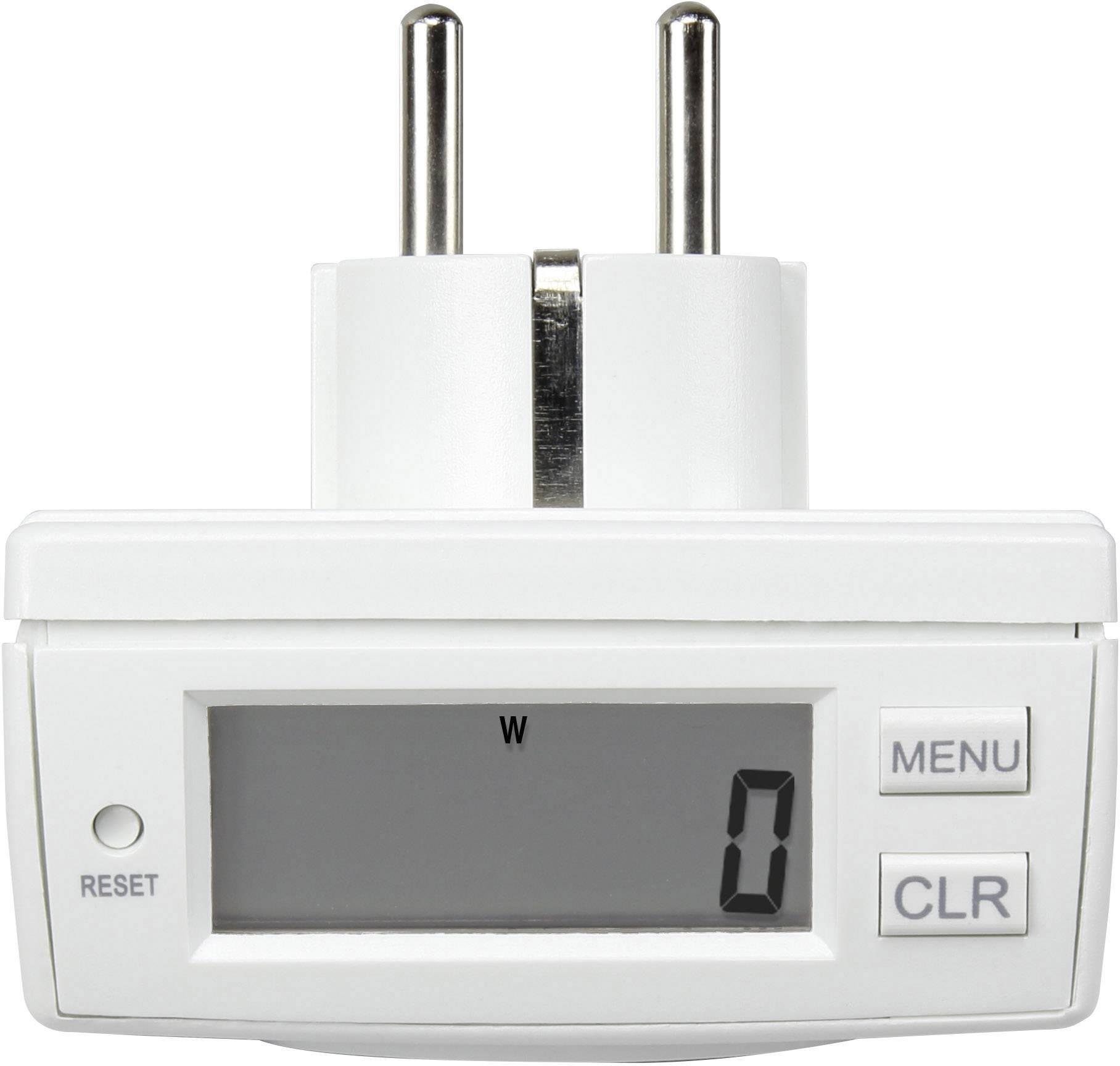 Měřič spotřeby el. energie energie Basetech EM 2000
