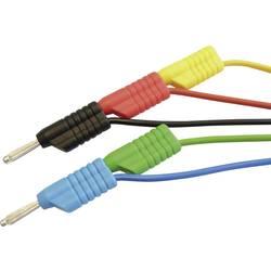 Sada měřicích kabelů 4 mm banánek Voltcraft MS 4250S, 2,5 mm², 5x 1 m