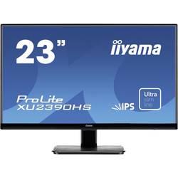 LED monitor Iiyama ProLite XU2390HS-B1, 58.4 cm (23 palec),1920 x 1080 Pixel 5 ms, IPS LED HDMI™, DVI, VGA