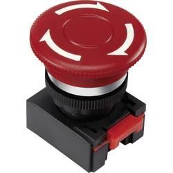 Nouzový vypínač TRU COMPONENTS LAS0-K-TSA, otočení, červená, 1 ks
