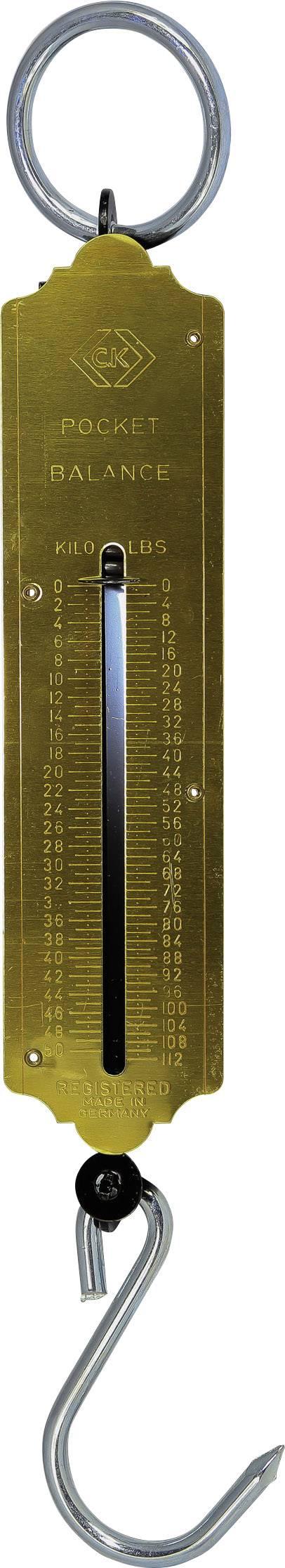 Pružinová váha C.K. Max. váživost 50 kg