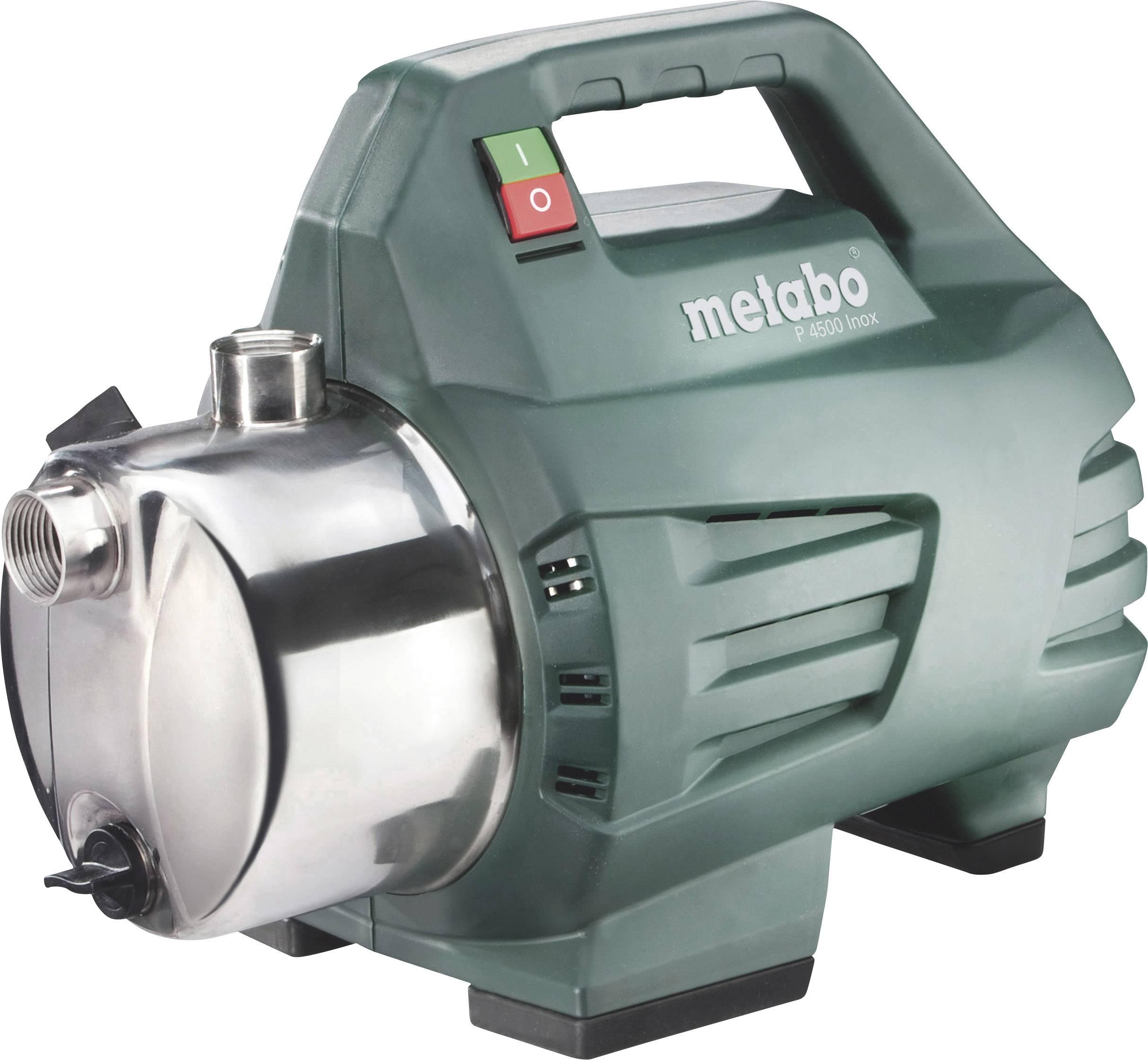 Zahradní čerpadlo Metabo P 4500 INOX 600965000, 4500 l/h, 48 m, 1300 W