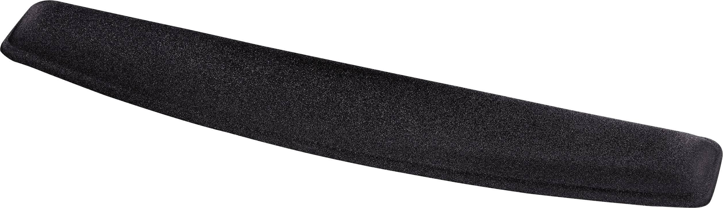 Gélová opierka pod zápästie Hama 00054785ergonomická, 461 x 84 x 18 , čierna