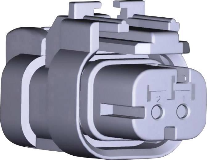 Zásuvkový konektor na kabel TE Connectivity AMPSEAL16 776427-1, počet pólů 2, 1 ks