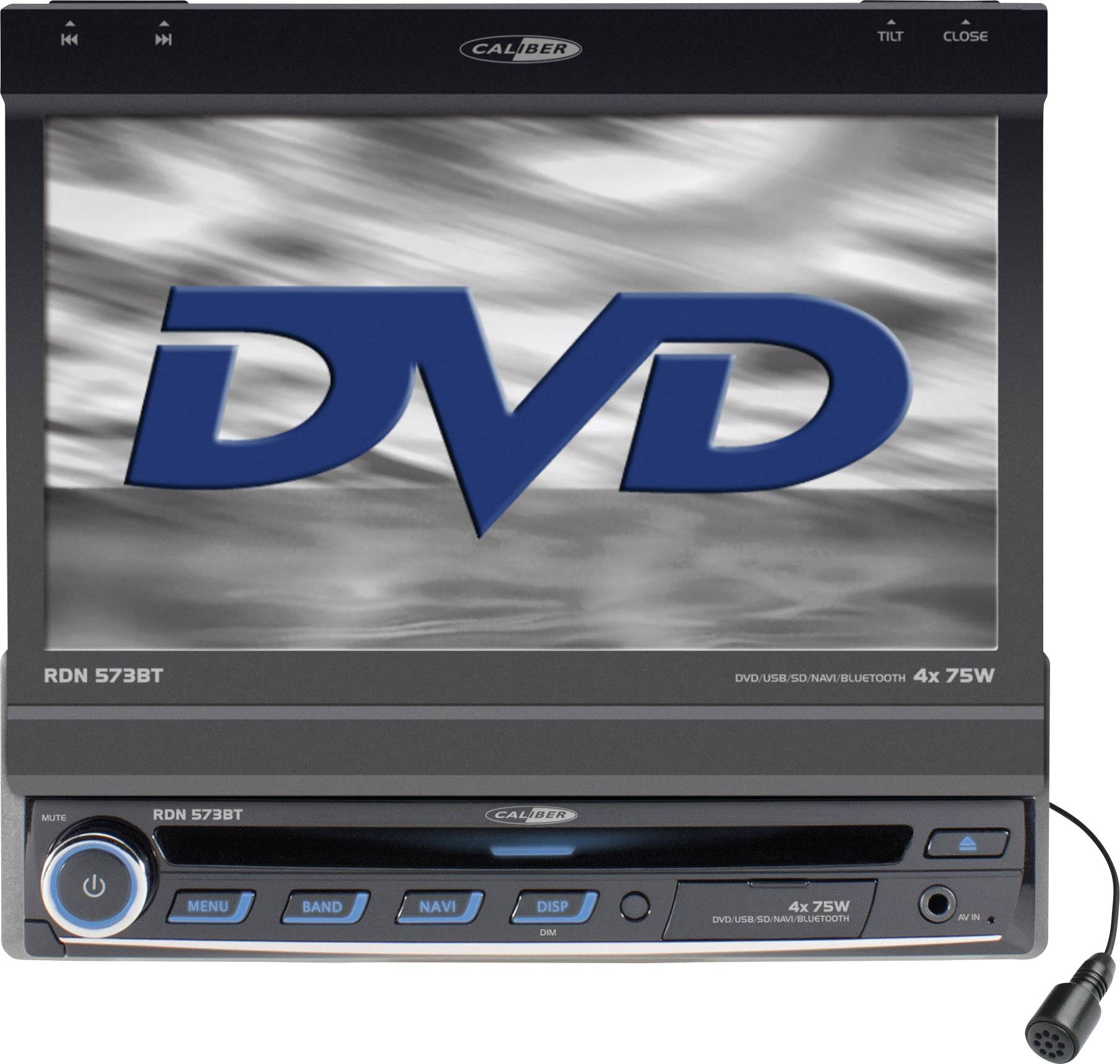 Autorádio s DVD Caliber RDN-573BT, USB, Bluetooth, SD lot