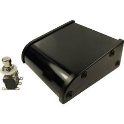 Nožní/ruční tlačítko stavebnice, vypouklý hmatník Cliff CL2108C, 250 V/AC, 2 A, 2 přepínací kontakty, 1 pedál, 1 ks