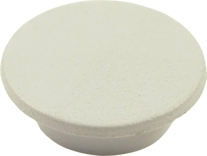 Krytka tlačítka Cliff CL1732, bílá, 9,25 mm