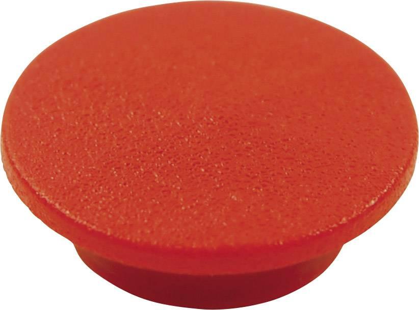 Krytka tlačítka Cliff CL1734, červená, 9,25 mm, červená