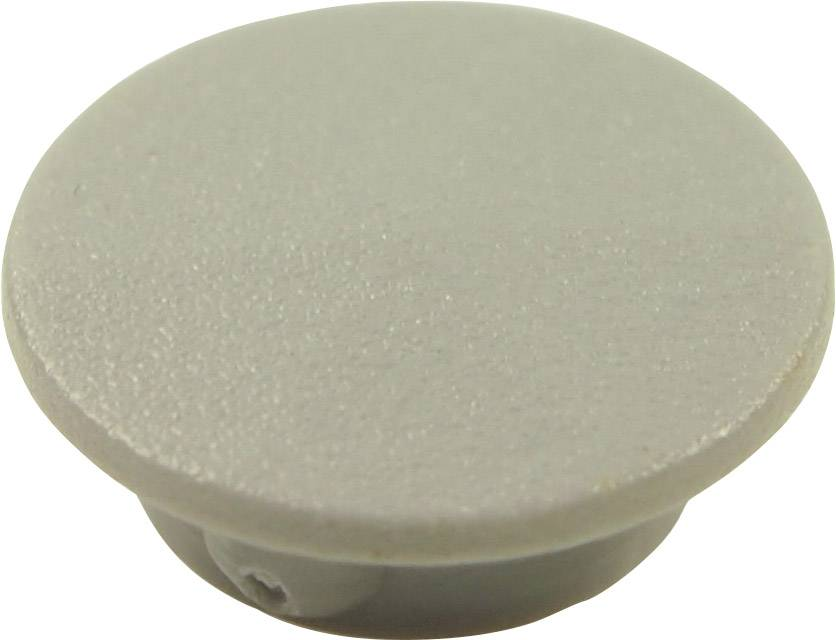 Krytka tlačítka Cliff CL1736, šedá, 9,25 mm