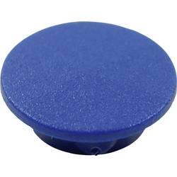 Krytka tlačítka Cliff CL1740, modrá, 9,25 mm, modrá
