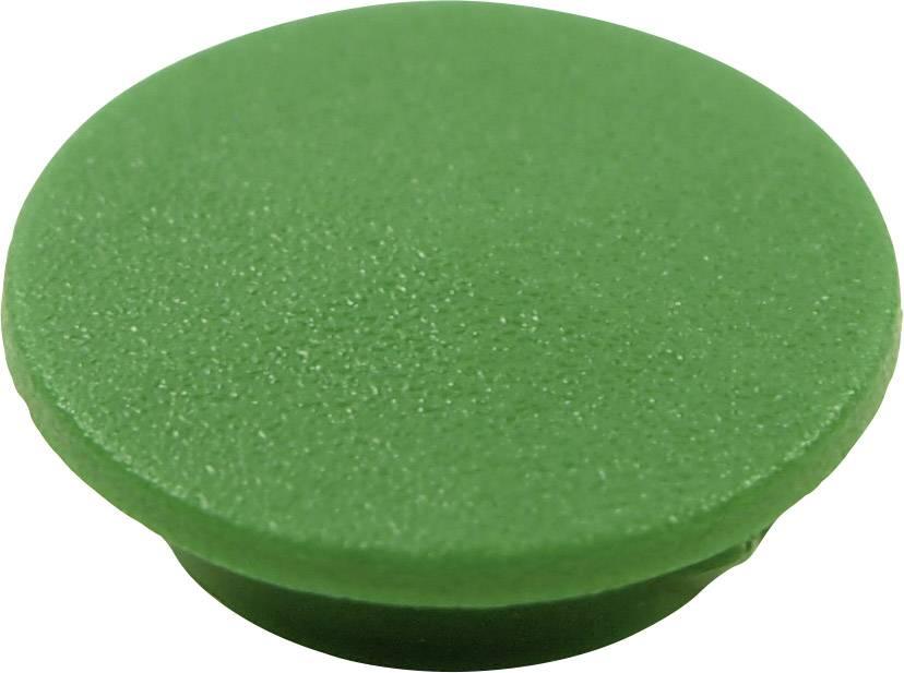 Krytka tlačítka Cliff CL1742, zelená, 9,25 mm, zelená