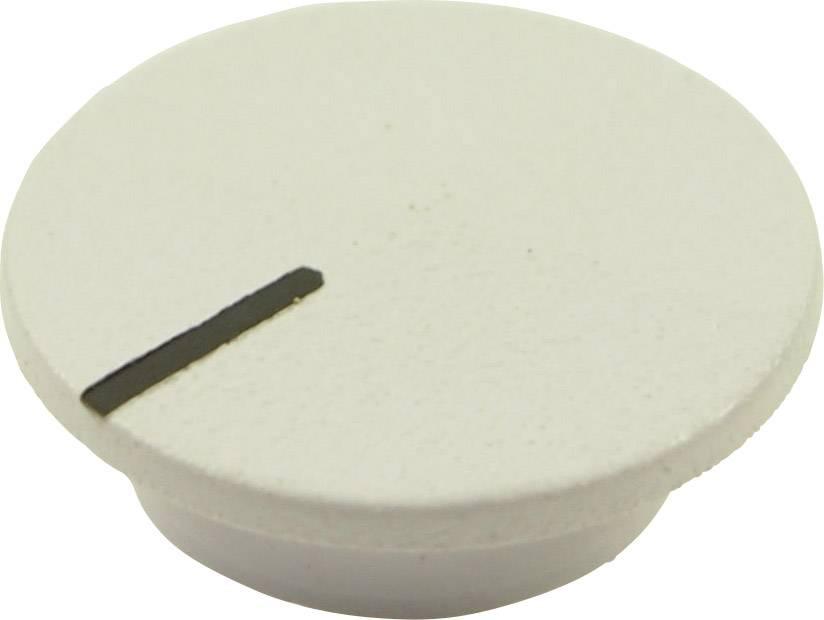 Krytka tlačítka Cliff CL1766, bílá, 9,25 mm