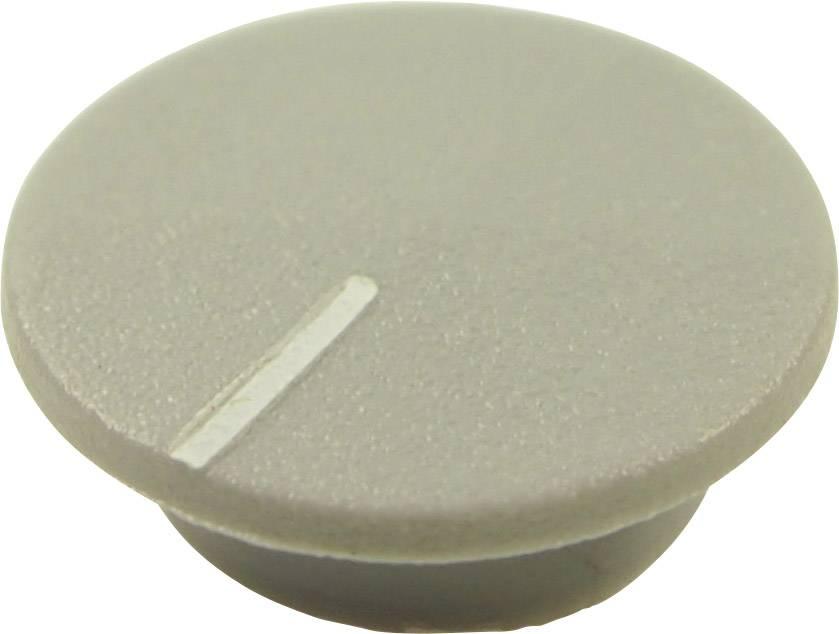 Krytka tlačítka Cliff CL1770, šedá, 9,25 mm