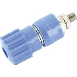 Pólová svorka econ connect AK7BL, 25 A, modrá, 1 ks