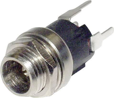 Nízkonapěťový konektor econ connect DCE5BP, vestavná zásuvka, rovná, 2.5 mm, 1 ks