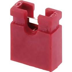 Zkratovací můstek econ connect SHRT, Rastr (rozteč): 2.54 mm, červená, 1 ks