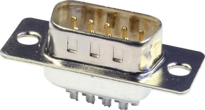 D-SUB kolíková lišta econ connect ST15LK/V, 180 °, pólů 15, pájecí kalíšek, 1 ks