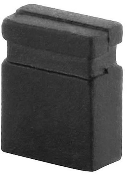 Zkratovací můstek econ connect SHSW/2, Rastr (rozteč): 2 mm, černá, 1 ks