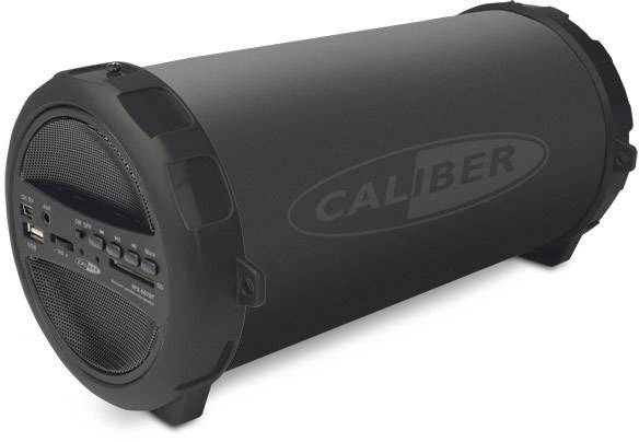 Bluetooth® reproduktor s FM rádiem Caliber Audio Technology HPG407BT, SD čtečka, USB, černá