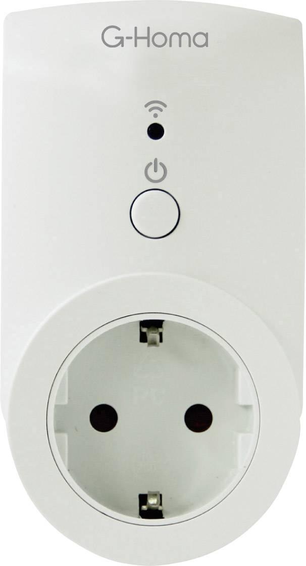 Inteligentná spínacia zásuvka ovládaná smartfónom G-Homa Smart Socket, s Wi-Fi