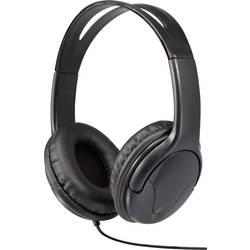 Sluchátka Renkforce HP-960s, uzavřená, černá