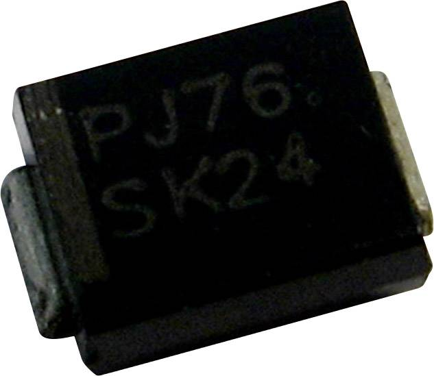 Schottkyho usmerňovacia dióda PanJit MB16, 1 A, 60 V