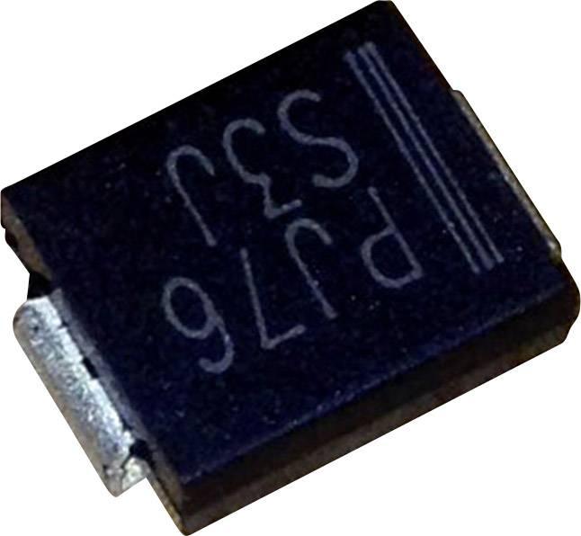 Schottkyho usmerňovacia dióda PanJit S510L, 5 A, 100 V