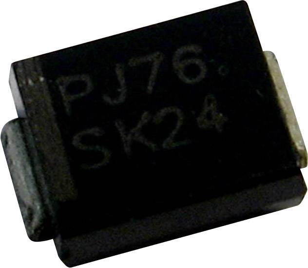 Dioda Z PanJit 1SMB5934, DO-214AA , zener. napětí 24 V