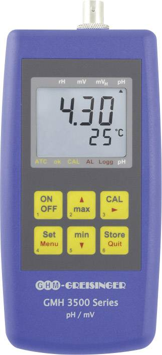 Měřič pH, redoxního potenciálu a teploty Greisinger GMH 3531, 603925