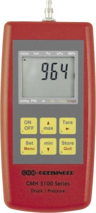 Vakuometr Greisinger GMH3161-12, tlak vzduchu, neagresivní plyny, korozivní plyny, 0 - 1.3 bar