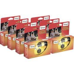 Topshot 400 Flash jednorázový fotoaparát 7 ks s vestavěným bleskem