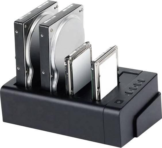 Dokovacia stanica pre pevný disk Renkforce rf-docking-06 RF-3916506, USB 3.0, eSATA