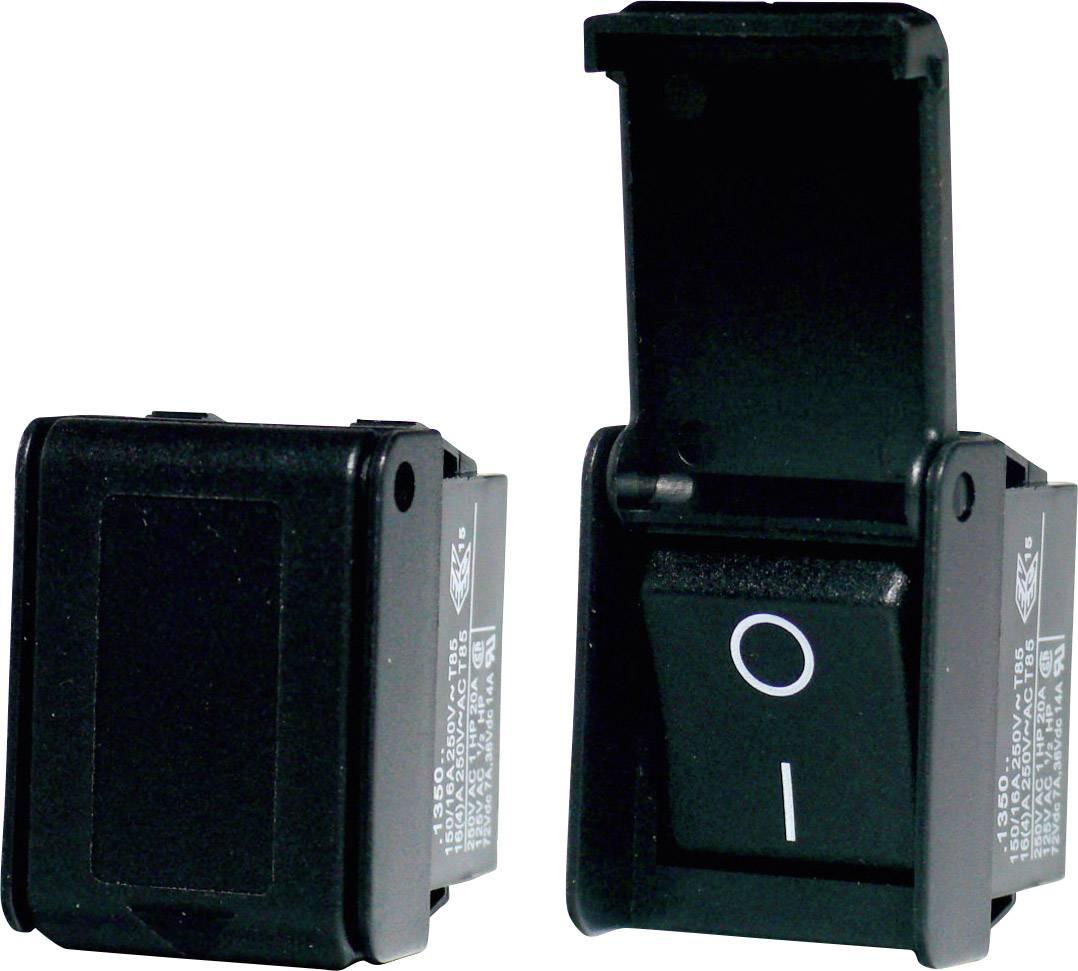 Kolébkový spínač s aretací Arcolectric C1350AHAAB, 250 V, 16 A, 1x vyp/zap, 1 ks