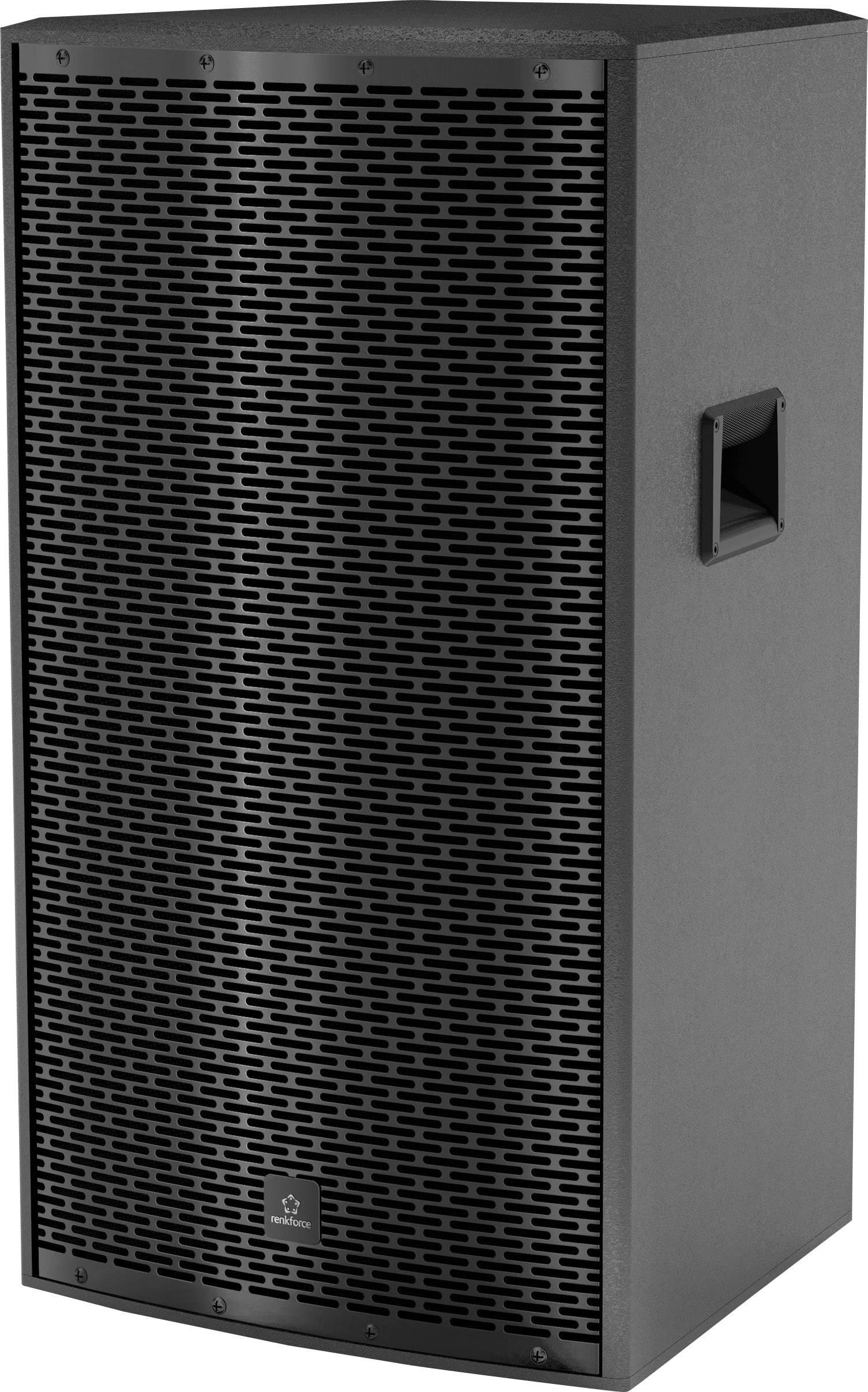 """Aktivní PA reproduktor Renkforce PA152A Premium Line, 300 W, 15"""""""