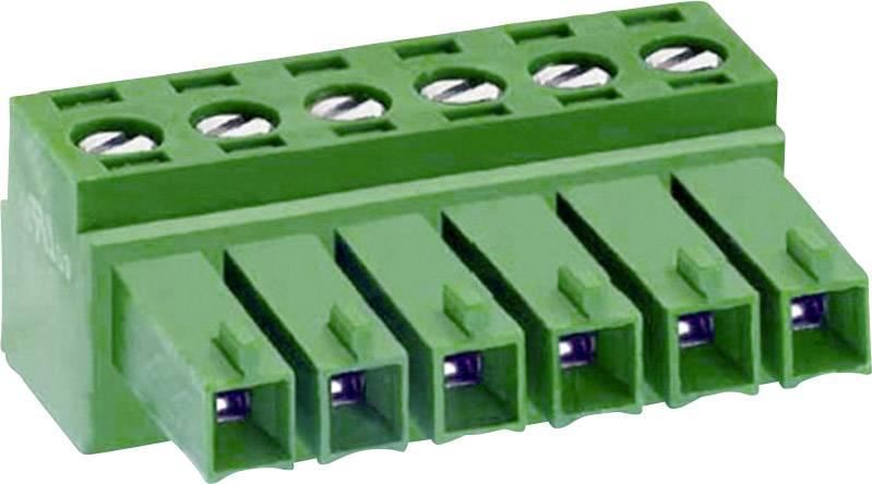 Zásuvkové púzdro na kábel DECA MC420-38102 1307089, 15.60 mm, pólů 2, rozteč 3.81 mm, 1 ks