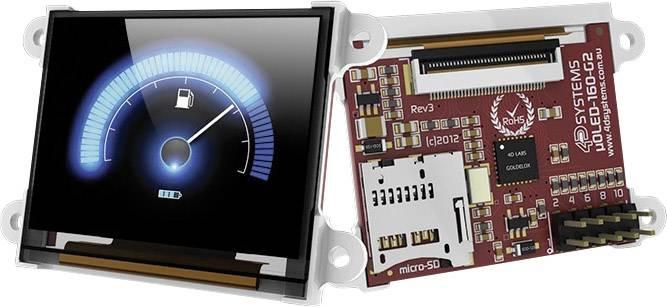 Vývojová deska 4D Systems uOLED-160-G2