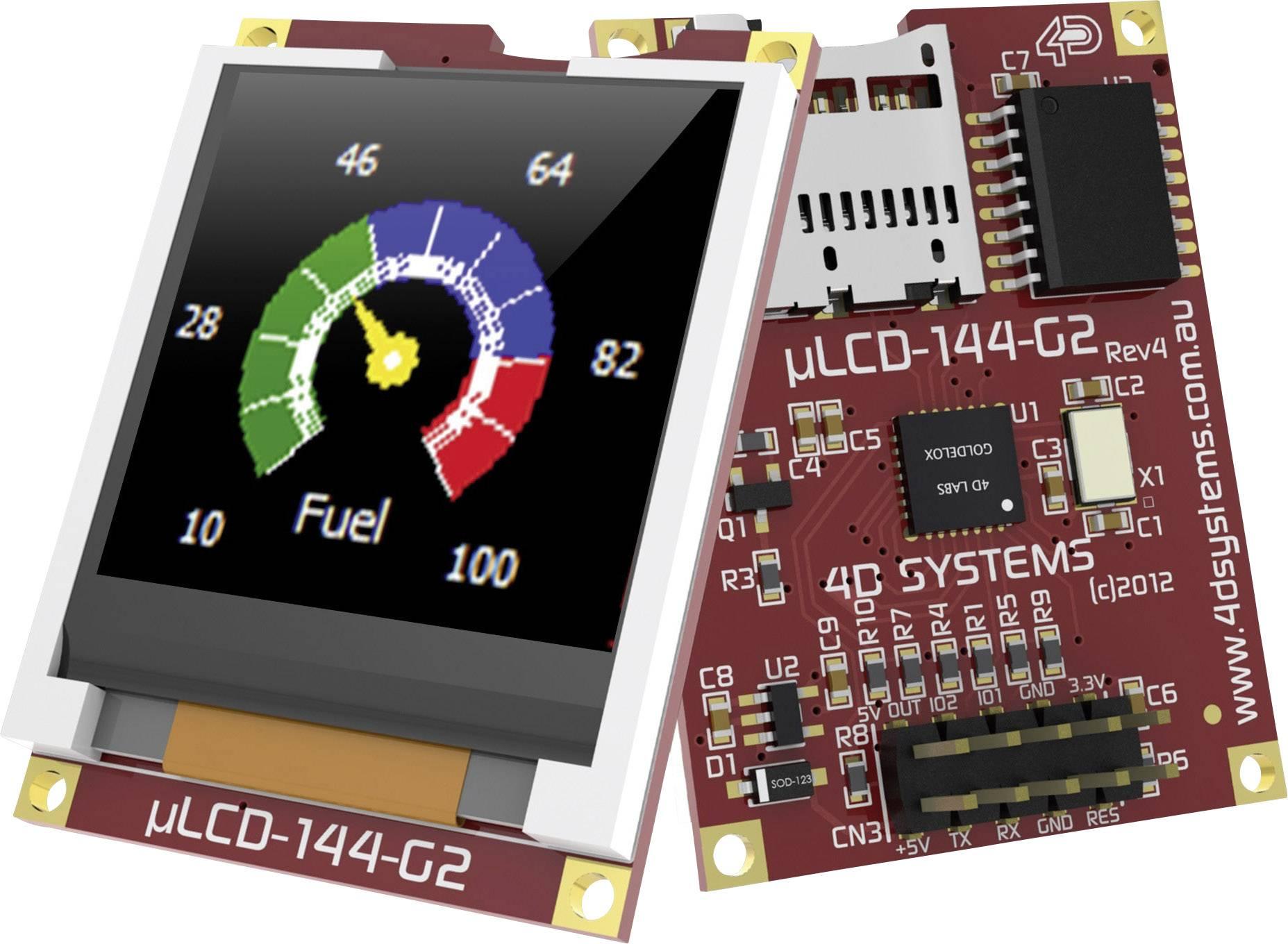 Vývojová deska 4D Systems uLCD-144-G2