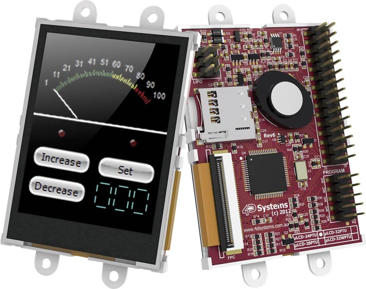 Vývojová deska 4D Systems uLCD-24PTU